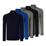 CGGS80Z3 Callaway Ribbed 1/4 Zip Merino Sweater