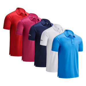 CGKSA0D7 Callaway Swingtech Solid Polo Shirt