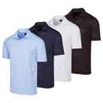 KX405 Greg Norman ML75 Shark Jacquard Polo Shirt